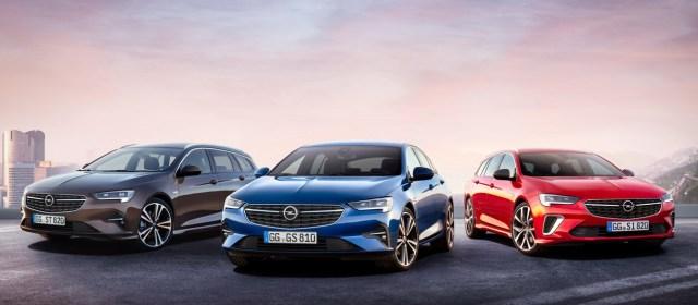 Opel Insignia: (prenovljena) na slovenskem trgu