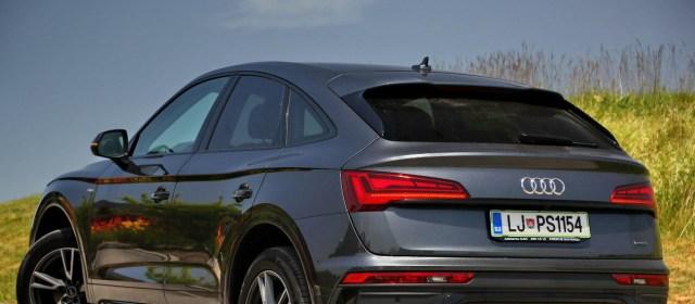 Audi Q5 Sportback: na slovenskem trgu