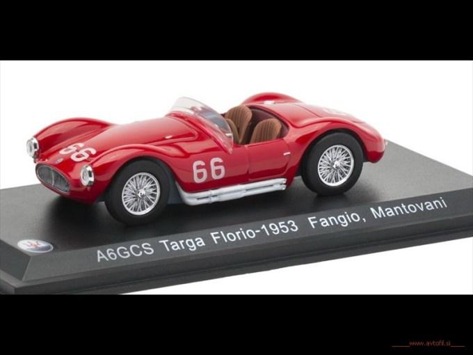 A6GCS Targa Florio-1953 Fangio, Mantovani F
