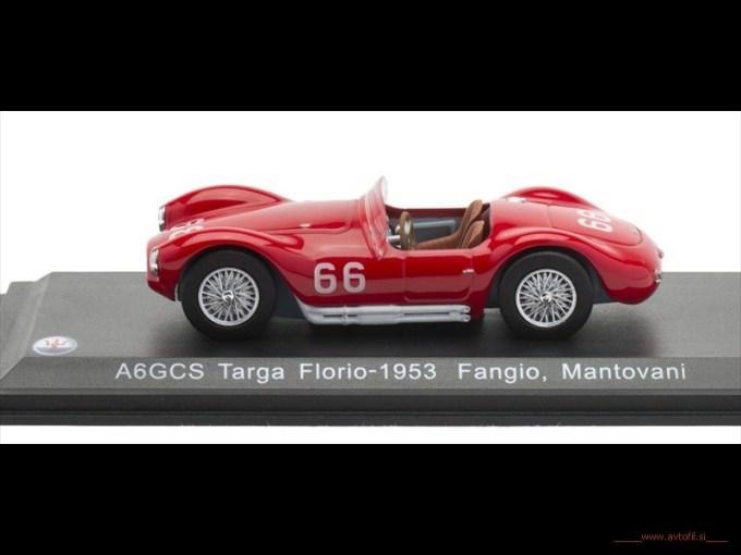 A6GCS Targa Florio-1953 Fangio, Mantovani S