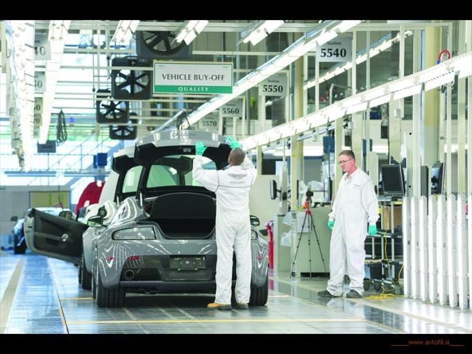 Aston Martin proizvodnja
