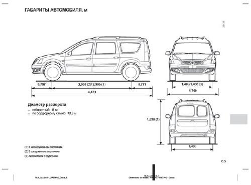 Lada Largus (Logan MCV). Руководство по эксплуатации
