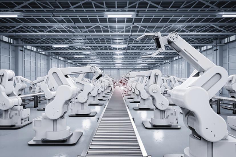 Depiction of Weak Artificial Intelligence (AI)