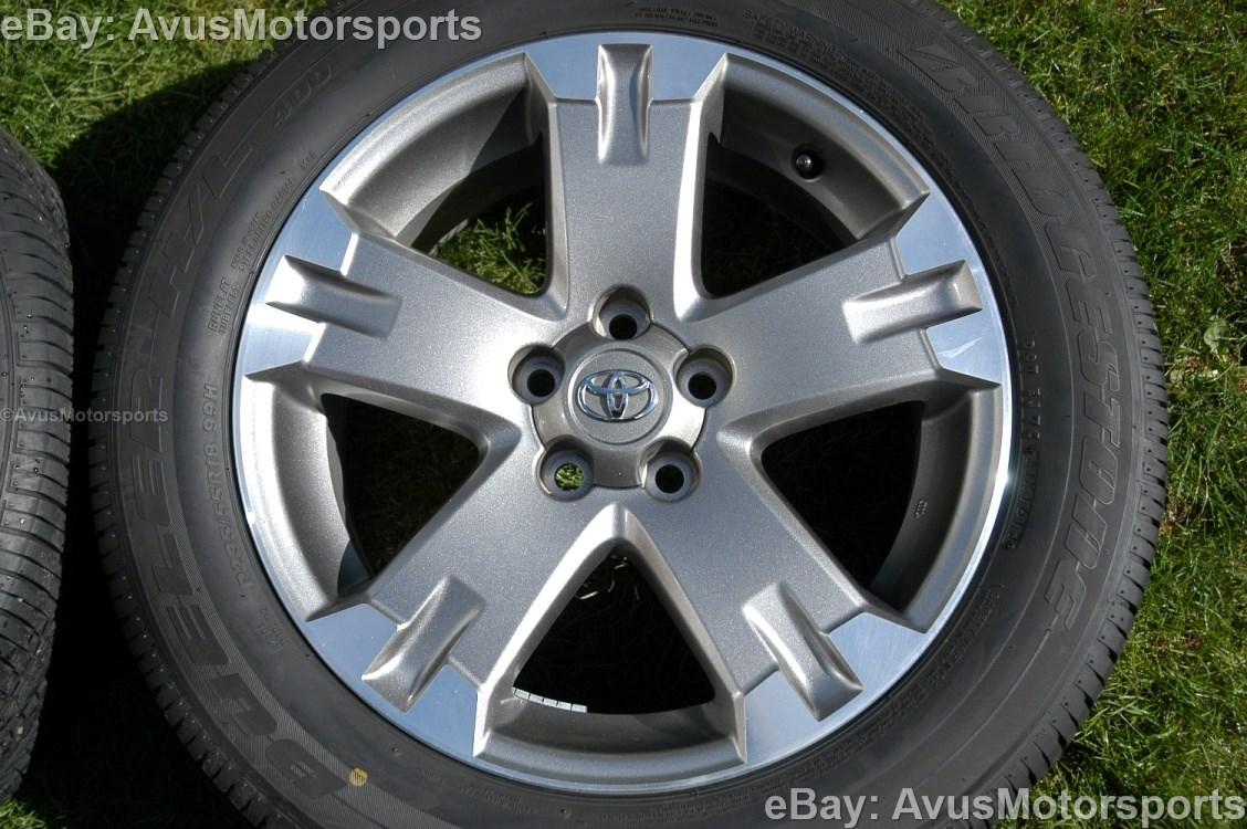 2012 Toyota Rav4 Oem 18 Quot Wheels Runflat Tires Tacoma Camry