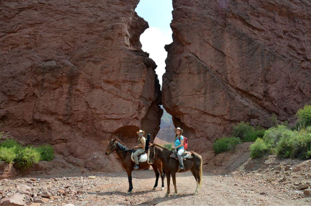 Canyon del Duende - Tupiza a cavallo - Bolivia