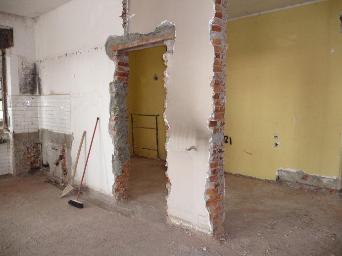 Modifica delle tramezzature interne per il consiglio di - Casa in muratura portante ...