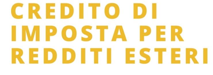 Credito di imposta per chi trasferisce la pensione  in Italia