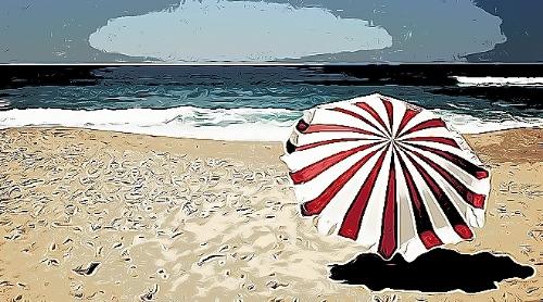 Estate flop per le spiagge