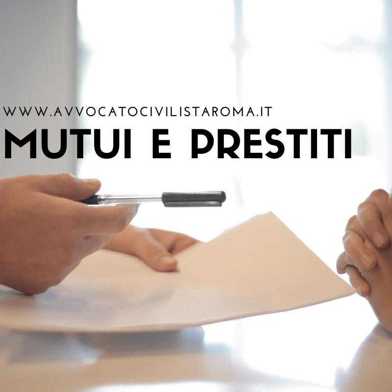 avvocato diritto bancario roma