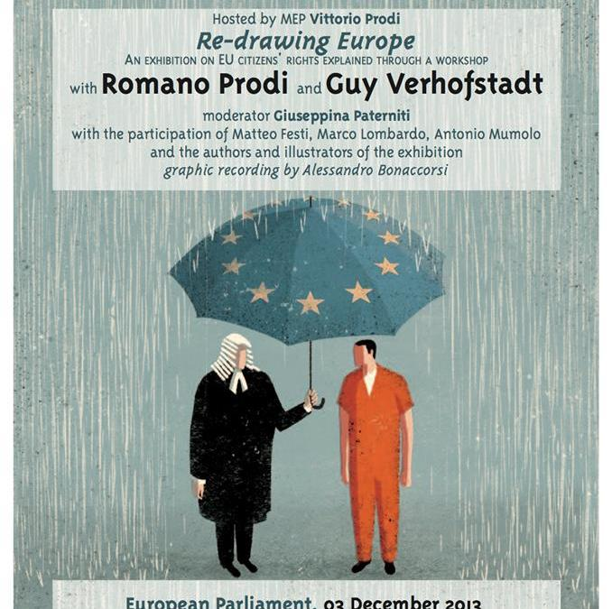"Bruxelles: ""Re-drawing Europe, An exhibition on EU Citizens' Rights"""