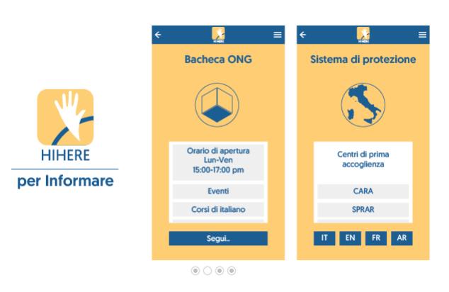Hi Here, un'app per i richiedenti protezione internazionale