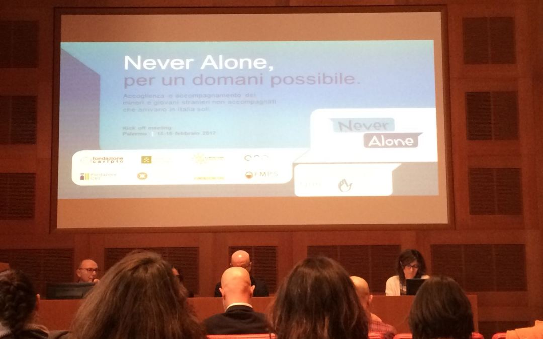 Bando Never Alone. Al via progetto per minori e giovani stranieri non accompagnati