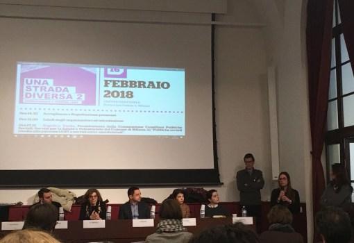 "16.02.18, Milano: ""Una strada diversa"""