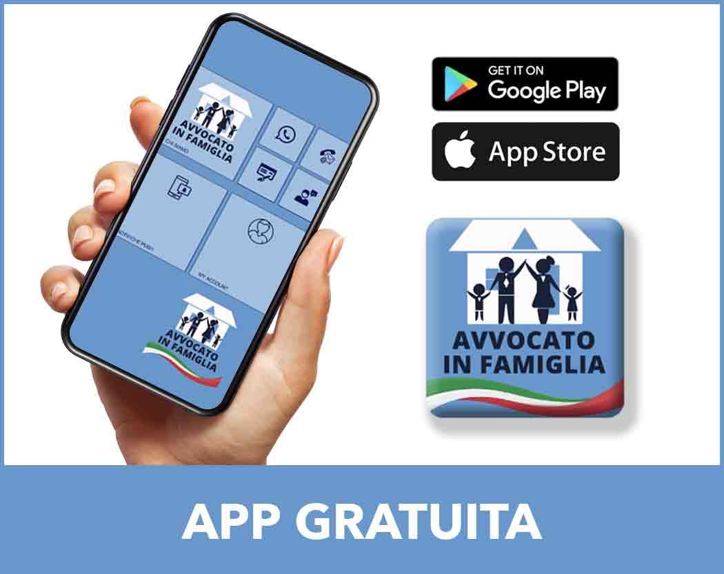 scaricate gratuitamente la app avvocato in famiglia