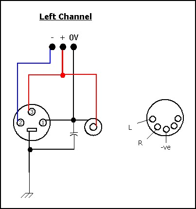 Xlr Connectors Wiring Diagram