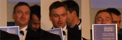Dan Croxen-John enjoying the moment