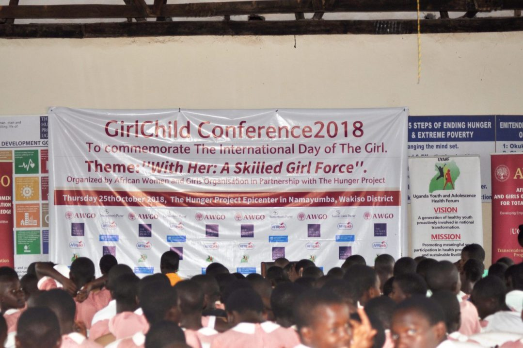 AWAGO Banner at the Girl Conference