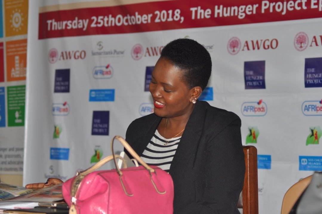 The Guest of Honor Mrs Janet Bugembe