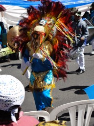 Elaborate parade costume