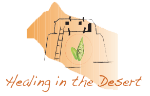 trauma resolution Healing in the Desert Logo