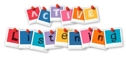 Active listening is very important in any sales call