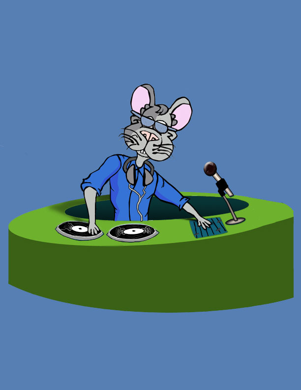 Charley Church Mouse - DJ