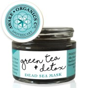 Green Tea + Detox Dead Sea Mineral Mud Mask + Cleanser. Organic Mask, Anti-ageing mask, cleansing mask, green tea mask. Pure and natural. Made with Green Tea, Bentonite Clay, Grape Seed, Frankincense, Cannabis (Hemp), Carrot Seed. Consciously Made in England.