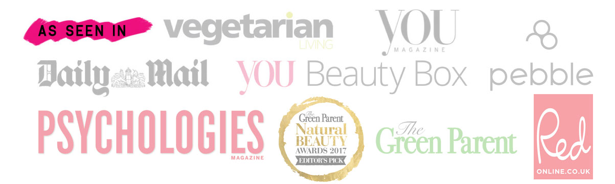 As Seen in You Magazine. Vegetarian Living, Daily Mail, Pebble Magazine, You Beauty Box. Best of British. Aura Clean Deodorant. Natural Deodorant That Works. Organic. By Awake Organics. Press. New. YouMagSocial. Daily Mail Online. Sunday Mail, Psychologies Magazine, Red Online, The Green Parent. Winner 2017 Natural Beauty Awards.