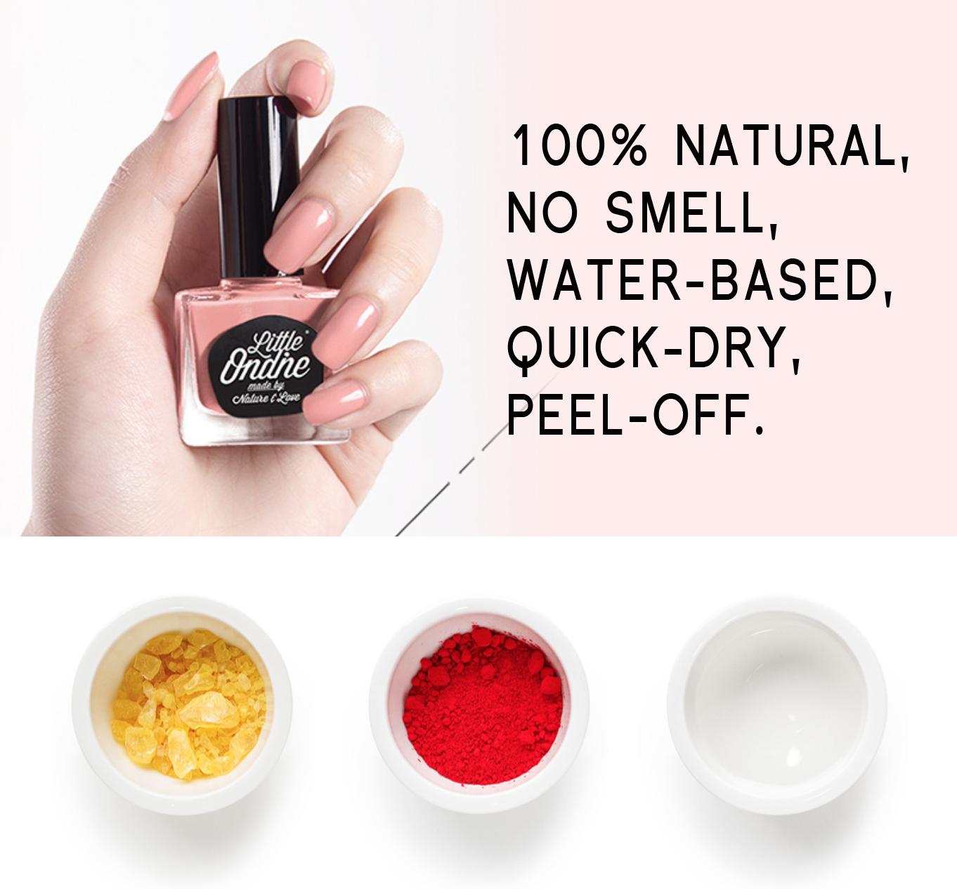 Little Ondine™ Natural Vegan Nail Polish – London – Awake Organics