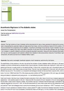 Acanthosis Nigricans | What Causes Dark Armpit Skin | Natural Deodorant Myth | Awake Organics | UK Beauty Brand Brand | British Journal of Medicine Study.jpg