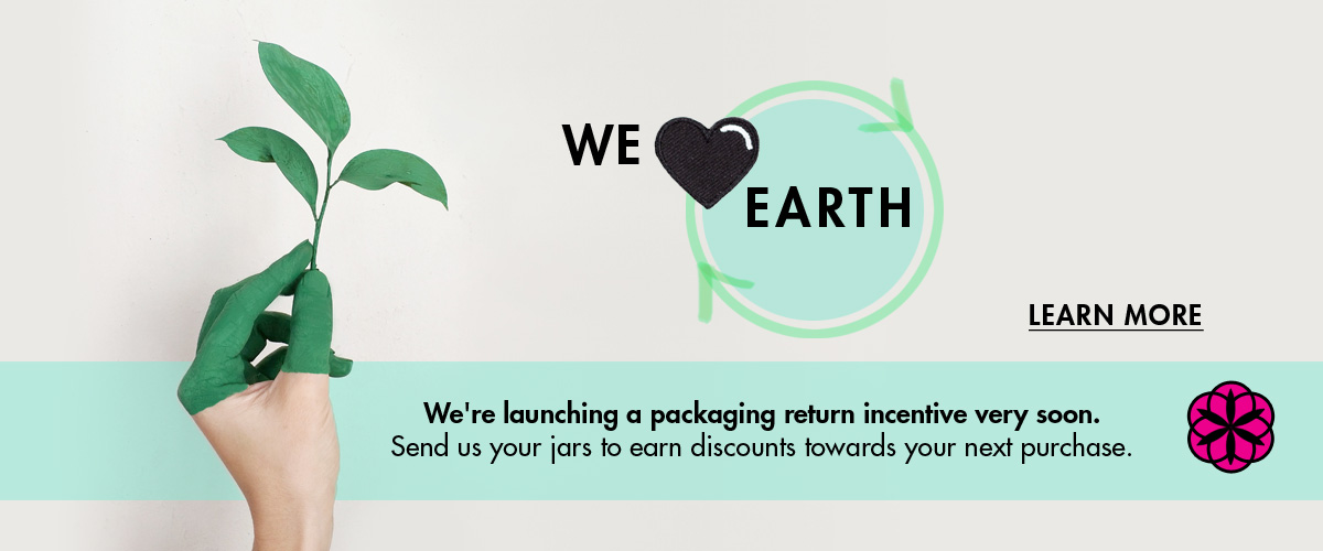 awake organics cruelty free beauty brand uk | close loop | recycle packaging | return program