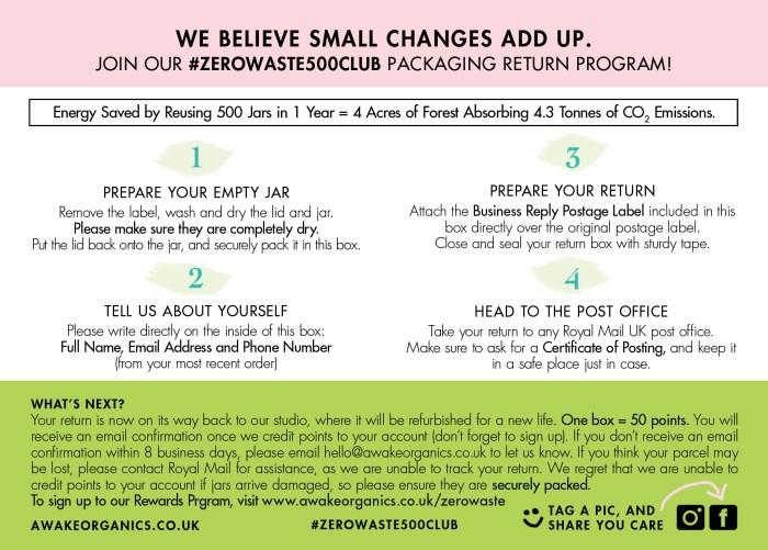 zero-waste-club-packaging-return-program-awake-organics-natural-cosmetics-uk-beauty-brand-back - how to return cosmetic packaging