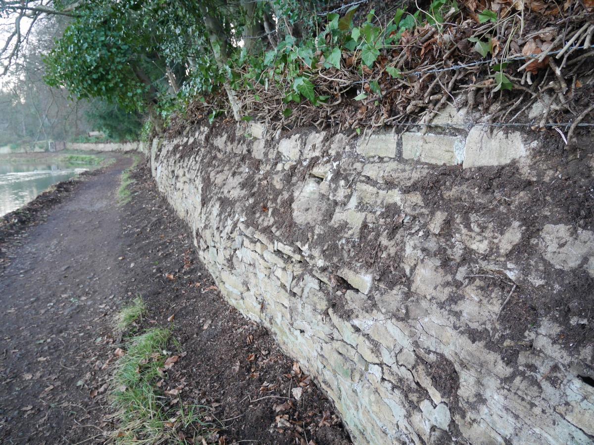 Bendy wall