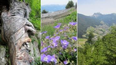 Day 1 Climbing Bulacia /Puflatsch