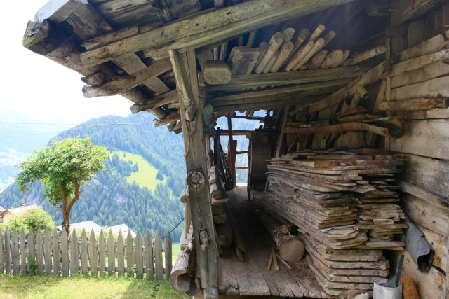 Gorgeous old barn in Bulla/Pufels