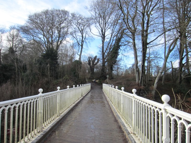 The bridge over the main road