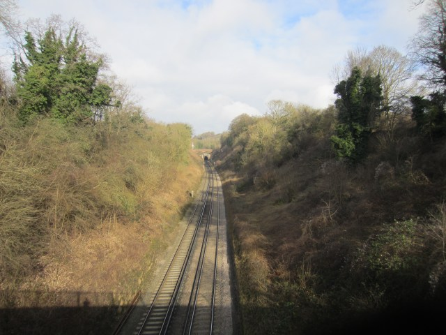 Over trainlines