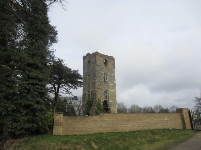 Whitehill folly tower