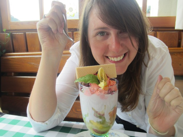 I was quite chuffed with my red nose and amazing parfait