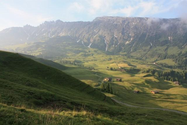 The valley before Schlern/Sciliar