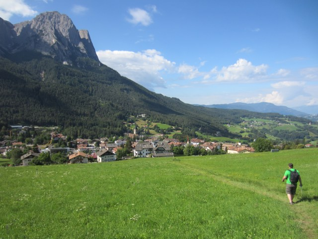 Wandering down to Seis/ siusi