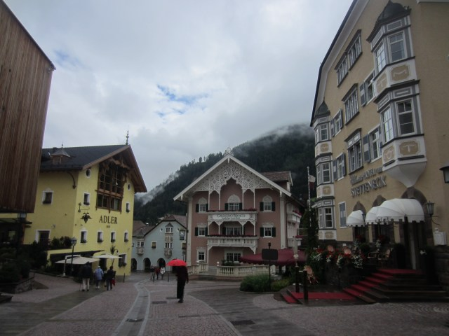 St Ulrich / Ortisei has beautiful buildings
