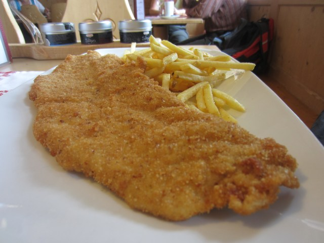 Schnitzel for lunch