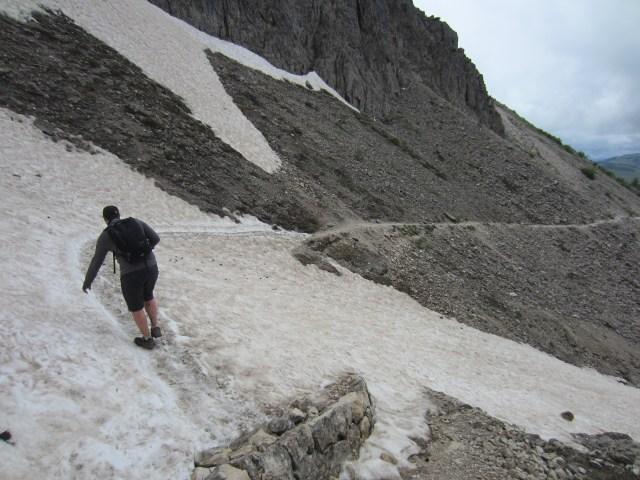 Snow paths
