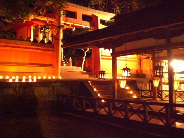Inside Kasuga Taisha