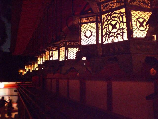 Bronze lanterns inside Kasuga Taisha