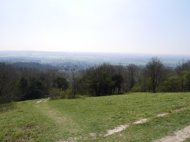 The view from Kemsing Down Nature Reserve