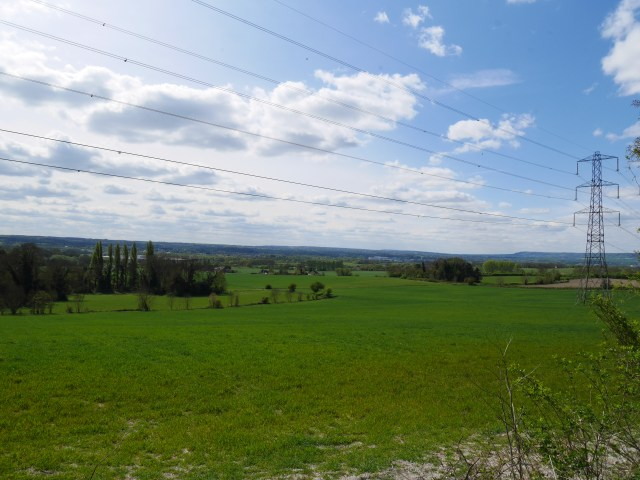 Open fields of Kent