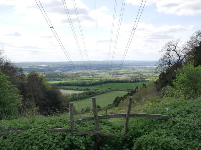 Power line views!