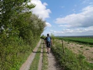 Marc walking from Lenham
